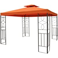 Haushalt International - Tetto di ricambio per gazebo in metallo da 3 x 3 m