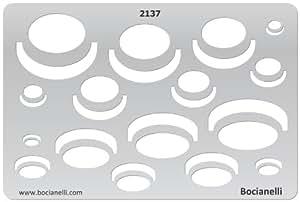 15cm x 10cm zeichenschablone aus transparentem kunststoff f r grafik design kunst handwerk. Black Bedroom Furniture Sets. Home Design Ideas