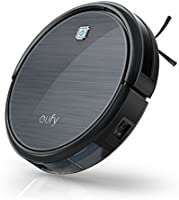 Eufy Robot Vacuum RoboVac 11, High Suction, Self-Docking, Self-Charging Robotic Vacuum Cleaner with Drop-Sensing Technology Fur and Allergens, Designed for Hard Floor and Thin Carpet