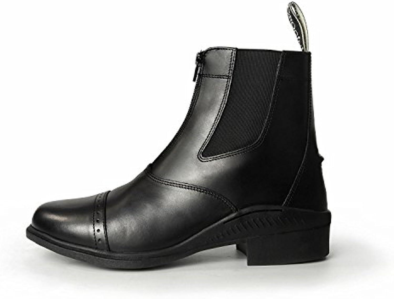 Botas cortas con cremallera de Brogini, color Negro, talla 39 UE