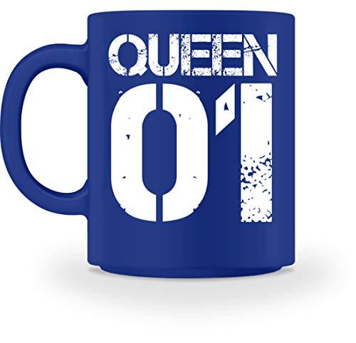 Queen 01 Kaffeetasse Für Die Mama - Paar Oder Familie Partnerlook - Tasse -M-Royal (Baby Royal King Kostüm)