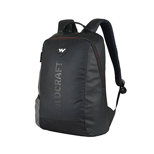 Wildcraft Work Packs'18 21 Ltrs Black Laptop Backpack (Streak Plus)