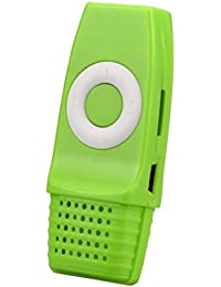 MChoice Baby Boy's Mini USB Mp3 Music Media Player Support 16Gb Micro Sd Tf Card Size: Free Size Green