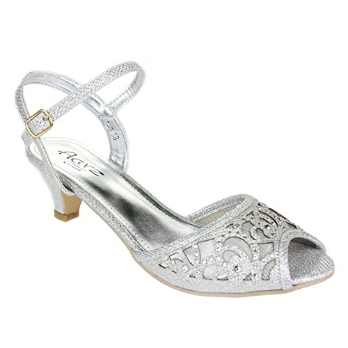 Silver Grey Wedding Shoes: Amazon.co.uk