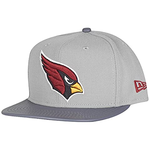 New Era 9Fifty Snapback Cap - GREY STORM Arizona Cardinals