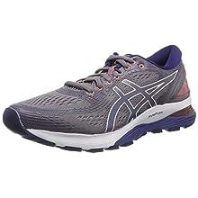 Asics Gel-nimbus 21, Women's Running Shoes, Grey (Lavender Grey/Dive Blue 500), 4 UK (37 EU)