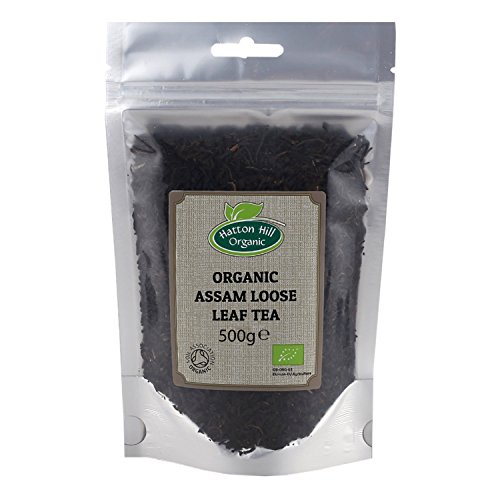 Organic Assam Loose Leaf Tea 500g by Hatton Hill Organic - Free UK Delivery
