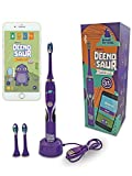 Deeno DEENO-Saur Smart Sonic Electric Toothbrush for Kids 5+ with Interactive App *****Clearance***** (6-12months Battery Life)