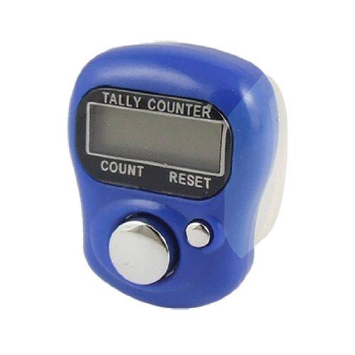Einstellbare Zähler (SODIAL (R) einstellbare Softband royalblau Gehaeuse, rueckstellende Finger Zaehler)