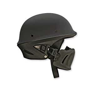 Solid Matte Black , X-Large : Bell Rogue Unisex-Adult Half Street Helmet (Solid Matte Black, X-Large) (D.O.T.-Certified)