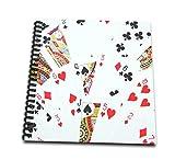3drose DB _ 112895_ 3Jeu de cartes Photography-deck de cartes Photo Cadeau pour pont de poker et autres Jeu de cartes Players-mini bloc-notes, 4by 10,2cm