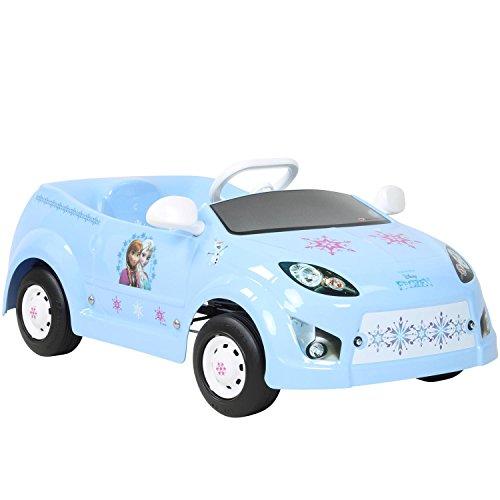 Tretauto Disney Cars oder Frozen Kinderfahrzeug , Farbe:hellblau
