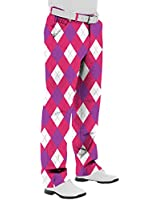 Royal Awesome & Back To The Fuchsia Men's Trousers