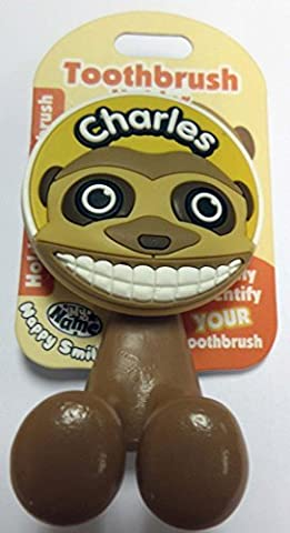 Toothbrush Holder ~ Animal Design ~ Kids/Children/Family ~ Names Starting with 'A' (Charles)