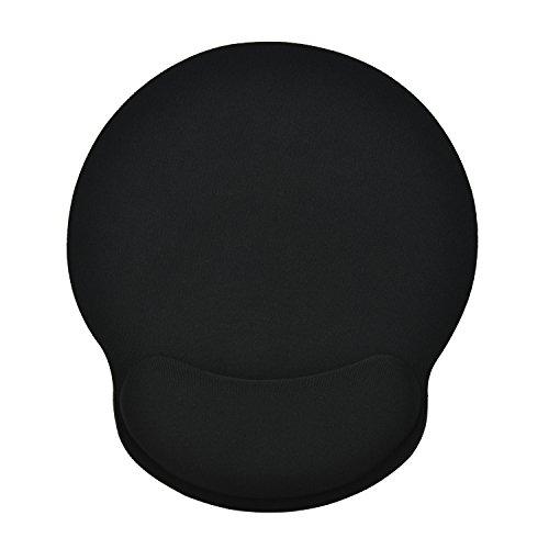 Willingood Ergonomische mauspads mit handgelenkauflage | Mauspad mit Handauflage| Mauspad gel | Anti-Sehnenscheidenprobleme für Büro, Haus, Studium, Computerspiele