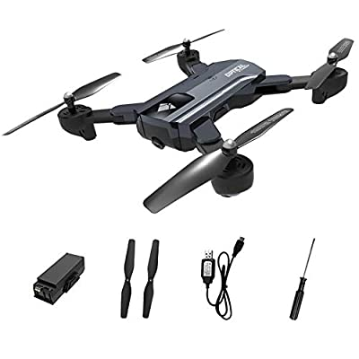 iBellete Four-Axis Aircraft Drone Quadcopter - Long Battery Life Gesture Photo Shooting Optical Flow Positioning Follow Folding Drone