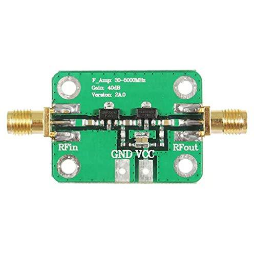 HermosaUKnight 30-4000Mhz 40Db Gain Rf Breitbandverstärkermodul für Fm Hf VHF/Uhf 50Ω UBS Grün (Home Satellite Radio Receiver)