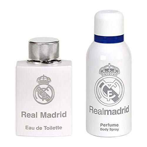 Real Madrid Set Perfume Hombre Spray Cuerp - 1 pack