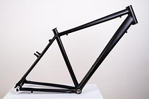 "28\"" Zoll Alu Fahrrad Rahmen Herren Trekking City Bike V Brake Rh 50cm schwarz Ketten Schaltung"