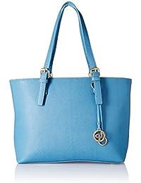 Lino Perros Women's Handbag (Blue) - B076HHC4Q4