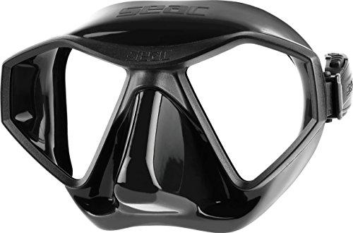 Seac Freediving Maske L70 - Low-volume - Schwarz/Schwarz
