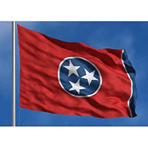 Allied Flagge Outdoor Nylon State Flagge, Tennessee, 5-foot von 2,4