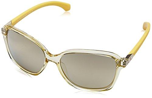 Calvin Klein Damen Jeans Ckj760S 740-58-16-135 Sonnenbrille, Gelb, 58
