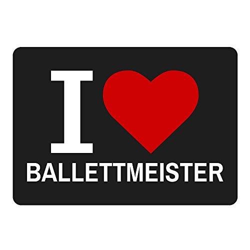 tappetino per mouse Classic I Love balletto Maestro