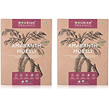 Nourish Organics Amaranth Muesli (Pack of 2) 300g Each