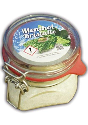 Mentholkristalle 225g Minze Menthol pharmazeutische Qualität Saunaaufguß 0,225kg -