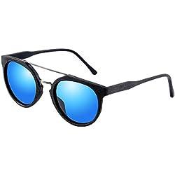 Madera Style Aviator Gafas de sol polarizadas marco Eyewear entera