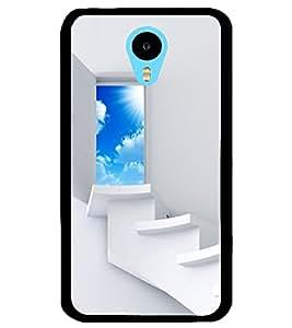 ColourCraft Beautiful Heaven Door Design Back Case Cover for MEIZU M1 NOTE