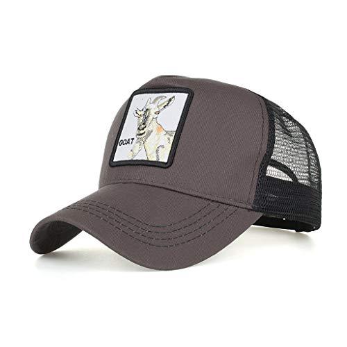 Yvelands Damen Herren Cap Hut Cotton hochwertige bestickte Unisex Baseball Caps einstellbar(K)