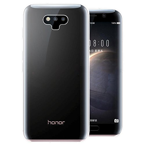 Huawei Honor Magic Hülle, KKtick Transparente Kratzfeste Schutzhülle Crystal Clear Bumper Premium TPU Silikon Durchsichtige Handyhülle für Huawei Honor Magic Case Cover