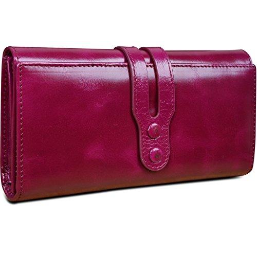 yaluxe-donna-cera-pelle-lungo-pochette-da-giorno-borsa-purse-cerniera-tasca-fucsia