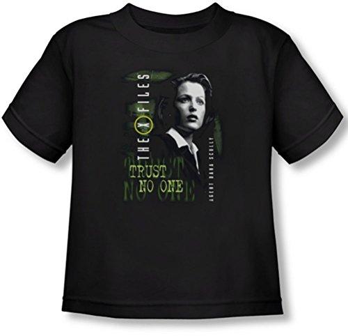 x-files-scully-maglietta-per-bambini-nero-nero