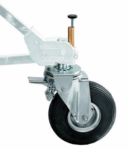 Avenger B900P Pneumatische Hartschale Wheel Set für Strato Safe Steht mit Tracking System-Set von 3 Safe Grip Set