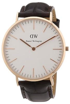 Reloj Daniel Wellington para caballero de cuero blanco de Daniel Wellington