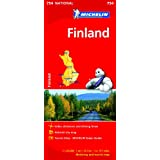 Finland NATIONAL Map (Michelin National Maps)