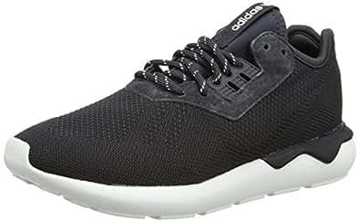 Image indisponible. Image non disponible pour la couleur : adidas Tubular  Runner Weave, Baskets Mode pour Homme Gris Grey (Carbon S14/Carbon
