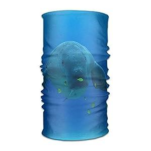 Zzxi Ways to Wear Headwear Dugong Dive Center Outdoors Daily Headwear Including Headband,Neck Gaiter,Bandana