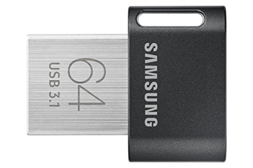 Samsung FIT Plus USB 3.1 64GB Pen Drive (Black)