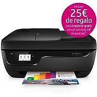 HP OfficeJet 3833 - Impresora multifunción de tinta (Wi-Fi, incluido 4 meses de HP Instant Ink, ADF, USB 2.0), color negro