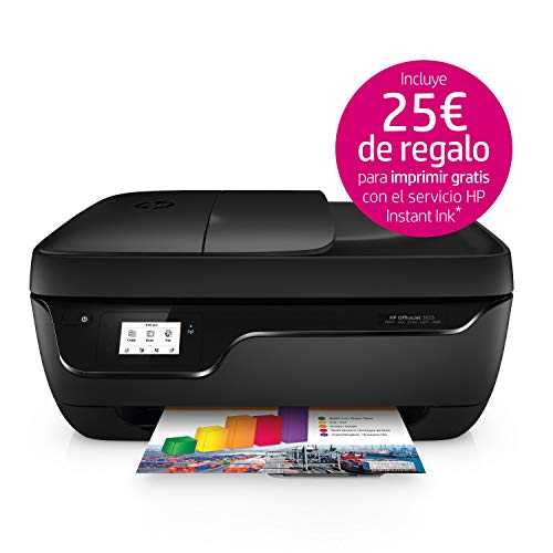 4. HP OfficeJet 3833 - Impresora multifunción WiFi