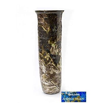 Zylindrische Vase mit natürlicher Unvollkommmenheit eines Baumstammes