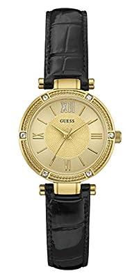 Guess Reloj Analogico para Mujer de Cuarzo con Correa en Cuero W0838L1