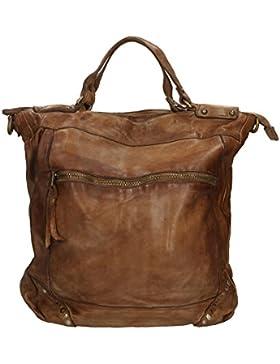 Chicca Borse Luxury Edition Wallet Vintage Portafoglio Lungo da Donna in Vera Pelle 100% Genuine Leather 33x36x10 Cm
