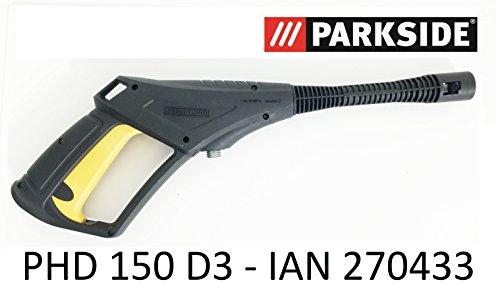 Parkside Hochdruckreiniger Spritzpistole PHD 150 D3 - LIDL IAN 270433 mit Gewindeanschluss und Trigger mit Kindersicherung bis 150 bar