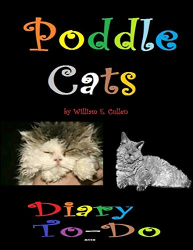 Poddle Cats: Diary To-Do 2019 -
