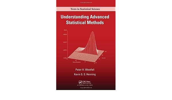 e-book Understanding Advanced Statistical Methods (Chapman
